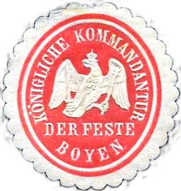 Kommandantur der Feste Boyen-2